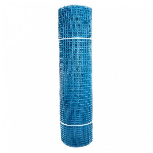 Садовая сетка квадратная 15х15 (1,0х20) ПРОФИ голубой сетка пластиковая садовая квадрат желтая ср 15 1 20 15х15 мм 1х20 м