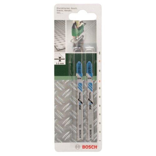 Набор пилок для ручного лобзика BOSCH 2609256733 2 шт. набор пилок для ручного лобзика bosch 2608636335 3 шт