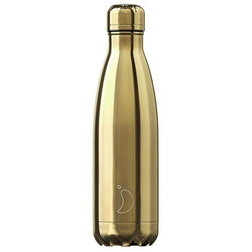 Термобутылка Chilly's Chrome, 0.5 л gold