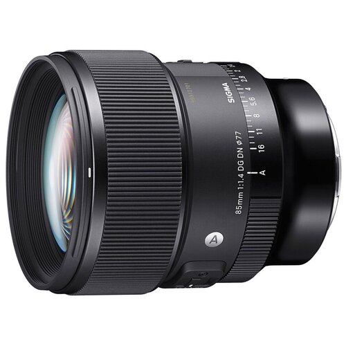 Фото - Объектив Sigma AF 85mm f/1.4 DG DN Art Sony E черный объектив sigma 70mm f 2 8 dg macro art sony e