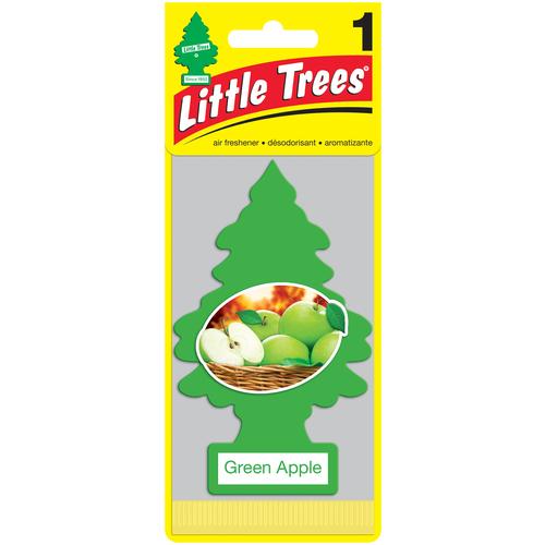Little Trees Ароматизатор для автомобиля Ёлочка Зелёное яблоко (Green Apple) little trees ароматизатор для автомобиля ёлочка не курить no smoking