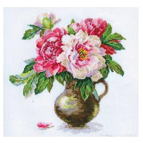 Купить 2-21 Набор для вышивания АЛИСА 'Цветущий сад: Пионы' 25*26см, Алиса, Наборы для вышивания
