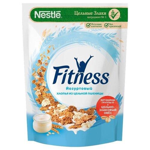 Готовый завтрак Nestle Fitness хлопья с йогуртом, дой-пак, 160 г nestle gold snow flakes готовый завтрак 300 г