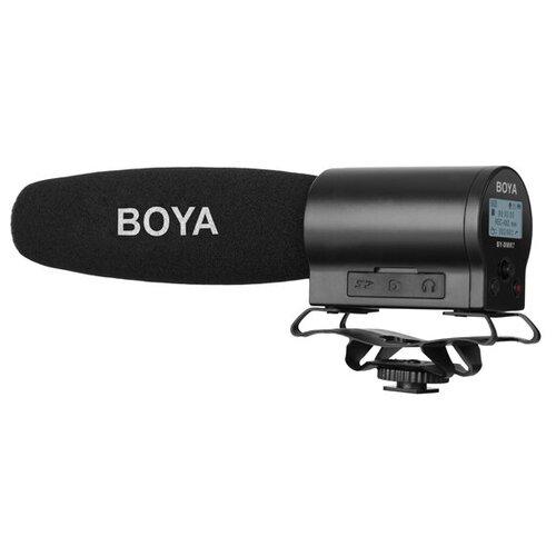 Микрофон с ручным управлением и встроенным флэш-рекордером Boya BY-DMR7