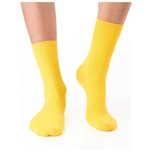 Носки рибана унисекс, цветные прикольные носки/ Модные носки с рисунком/ Высокие носки в рубчик с вышивкой Банан/ Носки из натурального хлопка