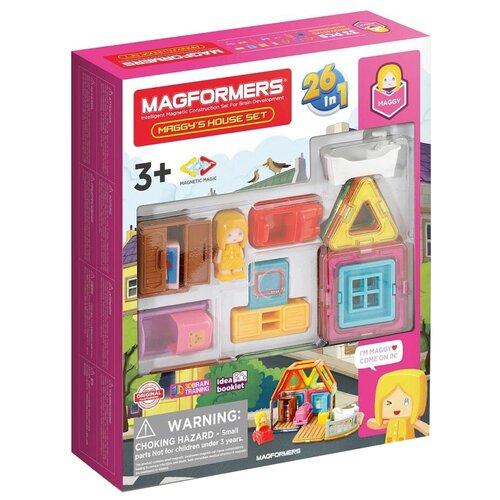 Фото - Конструктор Magformers House 705009 Домик Мэгги конструктор magformers my first 63144 желтый багги