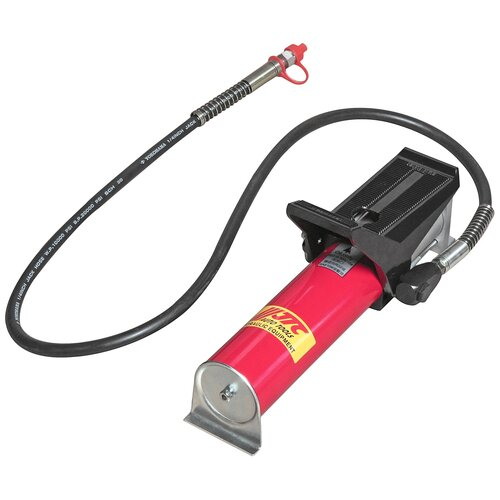Насос гидравлический с пневмоприводом 120-170PSI, заправочная емкость 800см3, откачка 700см3/мин, закачка 150см3/мин. JTC-8P101A