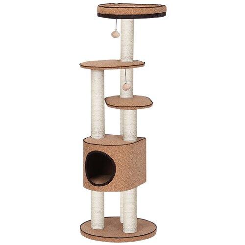 Игровой комплекс Fauna International Bonino 50 х 50 х 147 см коричневый