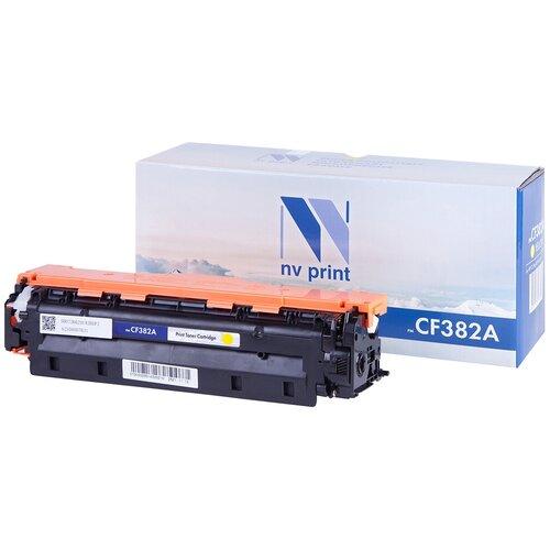 Фото - Картридж NV Print CF382A для HP, совместимый картридж nv print ce742a для hp совместимый