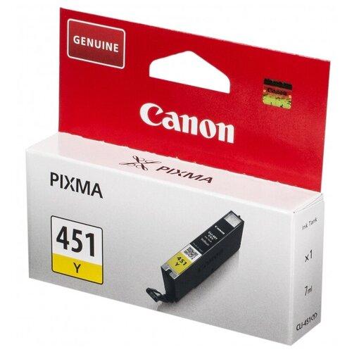 Фото - Картридж Canon CLI-451Y (6526B001) картридж canon cli 471y 0403c001