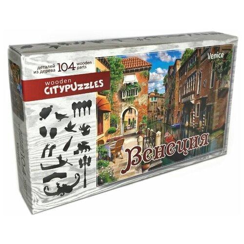 Пазл Нескучные игры Citypuzzles Венеция (8185), 104 дет. нескучные игры пазл нескучные игры карта россии 60 эл