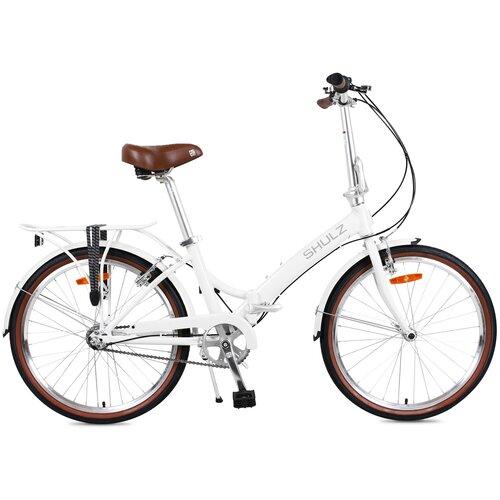 Городской велосипед SHULZ Krabi V-Brake белый (требует финальной сборки)