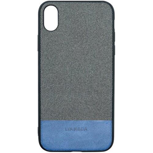 Чехол LYAMBDA CALYPSO для iPhone XS Max (LA03-CL-XSM-BK) Black чехол клип кейс lyambda calypso для iphone xs max la03 cl xsm br brown