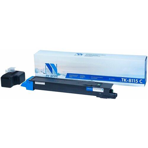 Фото - Картридж NV Print TK-8115 Cyan для Kyocera, совместимый картридж nv print tk 865 cyan для kyocera совместимый