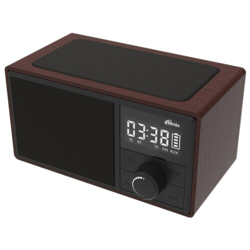 Радиобудильник Ritmix RRC-880 черный