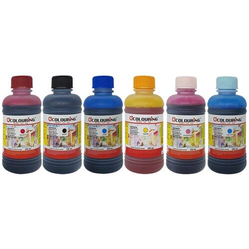 Фото - Чернила (краска) для заправки принтера Epson Stylus Photo TX700 (набор МАКСИ 6) чернила краска для заправки принтера epson l3156 набор макси