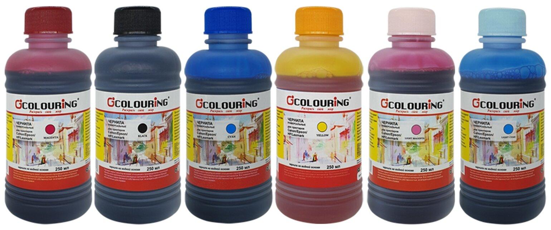 """Купить Чернила (краска) для заправки принтера Epson L805 (набор """"МАКСИ 6"""") по низкой цене с доставкой из Яндекс.Маркета"""