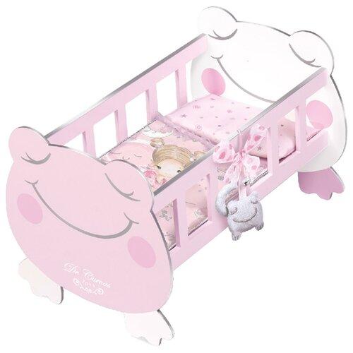 Купить 55134 Кроватка для куклы с аксессуарами серии Мария, 49, 5 см, DeCuevas, Мебель для кукол