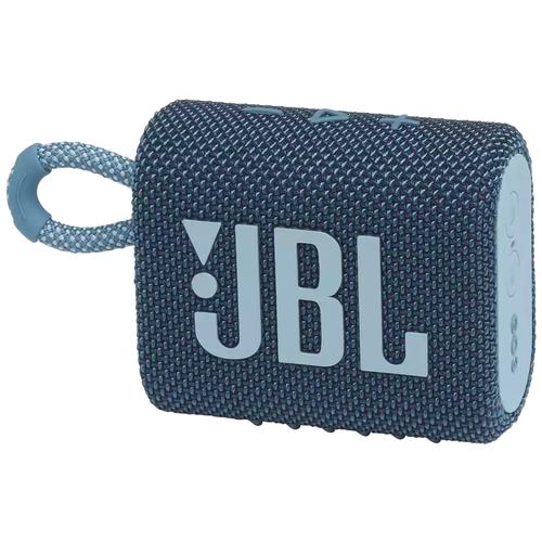 Портативная акустика JBL GO 3, blue