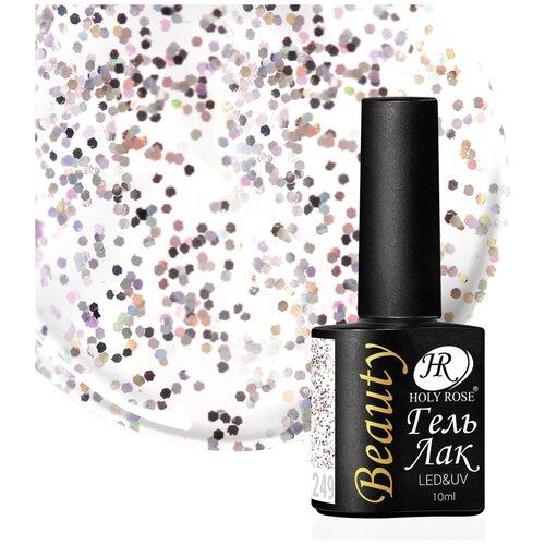 Купить Гель-лак для ногтей Holy Rose Beauty с блестками, 10 мл, №249