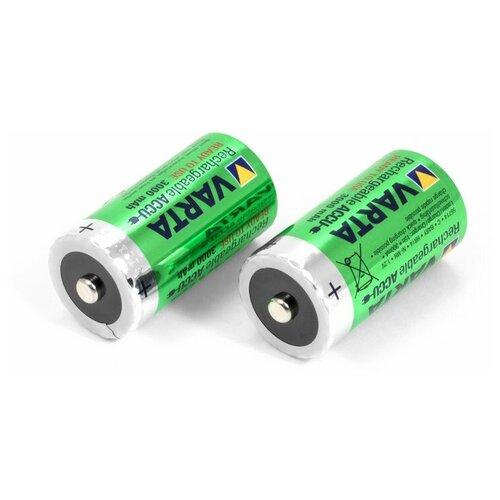 Фото - Аккумуляторы VARTA HR14 (C) Ni-MH, 3000mAh (2 штуки) аккумуляторы типа aa varta longlife комплект 4 штуки 2100mah