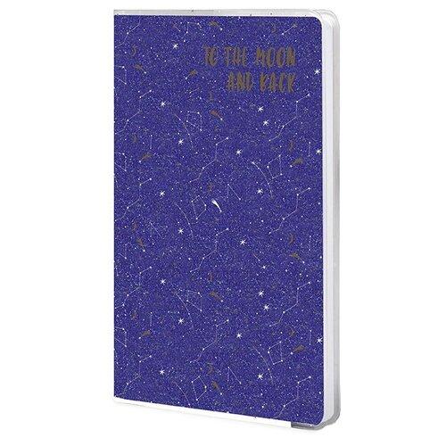 Купить Ежедневник LOREX Mystic Animals недатированный, B6, 80 листов, синий, Ежедневники, записные книжки