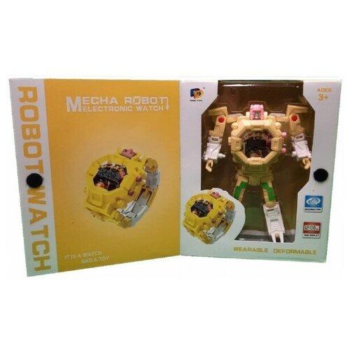 Детские часы Робот-Трансформер, ROBOT WATCH Dade Toys, Роботы и трансформеры  - купить со скидкой