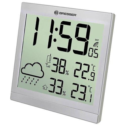 Метеостанция BRESSER TemeoTrend JC LCD, серебристый