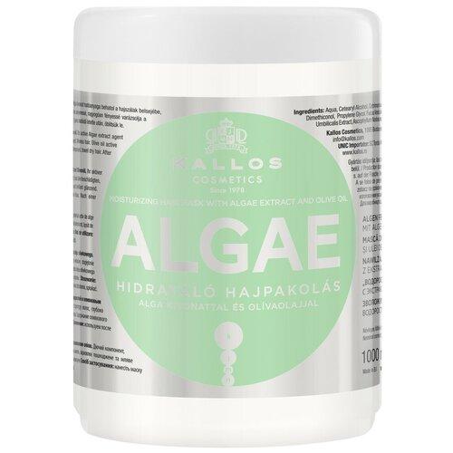 Купить Kallos KJMN Маска для волос с экстрактом водорослей и оливковым маслом Algae, 1000 мл