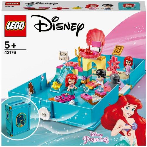 Конструктор LEGO Disney Princess 43176 Книга сказочных приключений Ариэль конструктор lego disney princess 43176 книга сказочных приключений ариэль