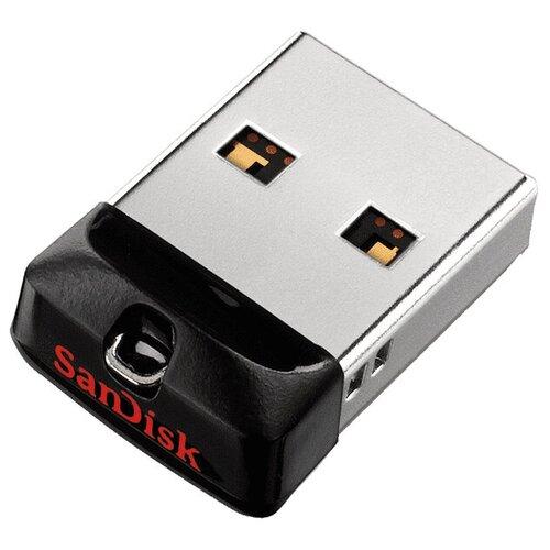 Фото - Флешка SanDisk Cruzer Fit 64 GB, черный флешка sandisk ultra fit usb 3 1 64 gb