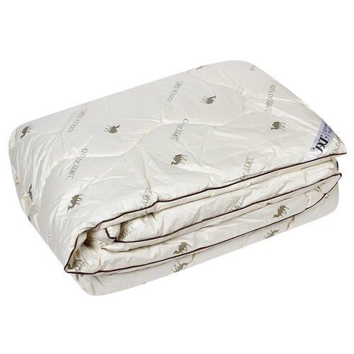 Одеяло 220х205 Верблюжья шерсть ткань 100% хлопок, наполнитель верблюжья шерсть 481022 подушки для беременных dream time подушка верблюжья шерсть 50х70 полиэстер