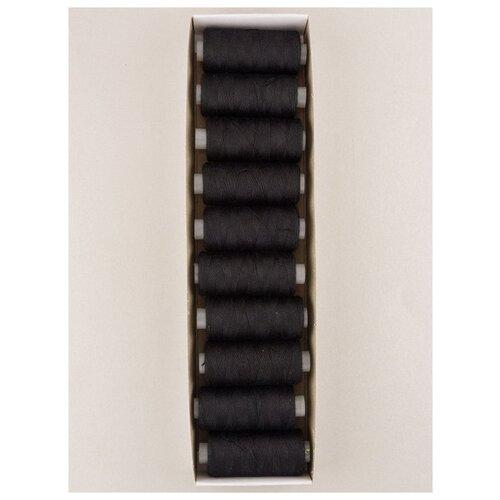 Швейные нитки, 183 ярдов, 10шт., 20s/2, Гамма, черный wzsplik чёрный цвет 38 ярдов