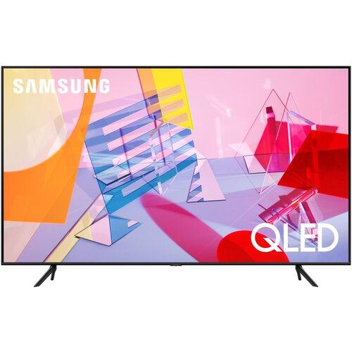 Фото - Телевизор QLED Samsung QE75Q60TAU 75 (2020), черный телевизор samsung ue43au7570u 43 titan gray