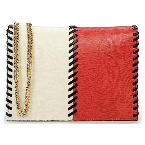 Сумка-клатч женская Baldinini G2APWG3M0022T26 red/white/black Elisa 00 недорого