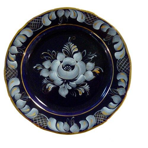Тарелка десертная Гжельский фарфоровый завод