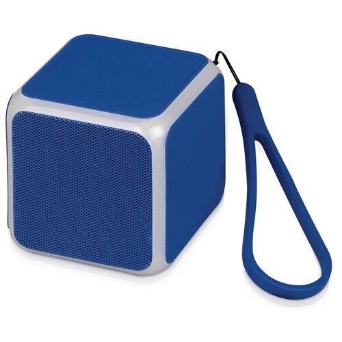 Портативная акустика Oasis CUBE, синий портативная акустика oasis bermuda голубой