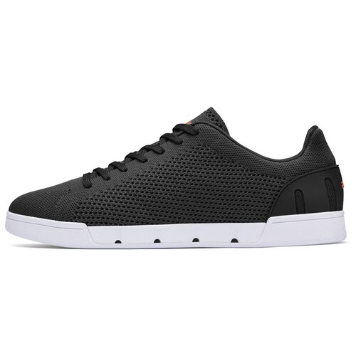 Мужские кроссовки SWIMS Breeze Tennis Knit цвет Black/White размер 44.5