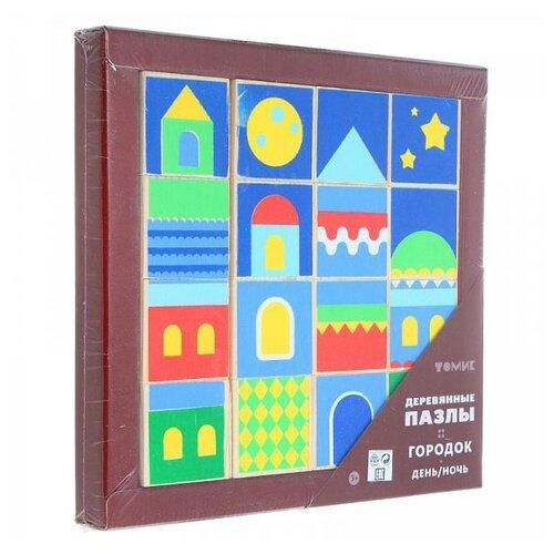 Купить Кубики-пазлы Томик Город День/Ночь 121, Детские кубики