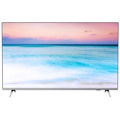 Фото - Телевизор Philips 50PUS6654 50 (2019), серебристый металлик телевизор philips 50pus6654 50 2019 серебристый металлик