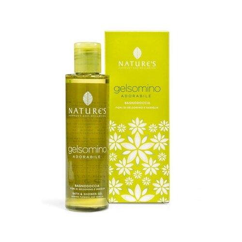 Купить Увлажняющий Гель для ванны и душа с жасмином и ванилью - Nature's - Jasmine Bath & Shower Gel 200 мл.