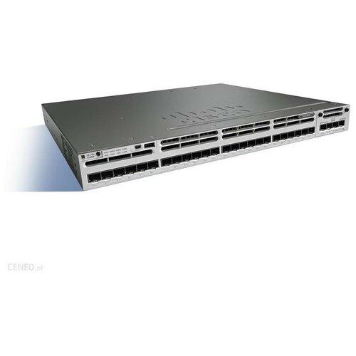 Коммутатор Catalyst Cisco WS-C3850-24S-E маршрутизатор cisco catalyst 3560 cx 12 port data ip base cisco cid ws c3560cx 12tc s