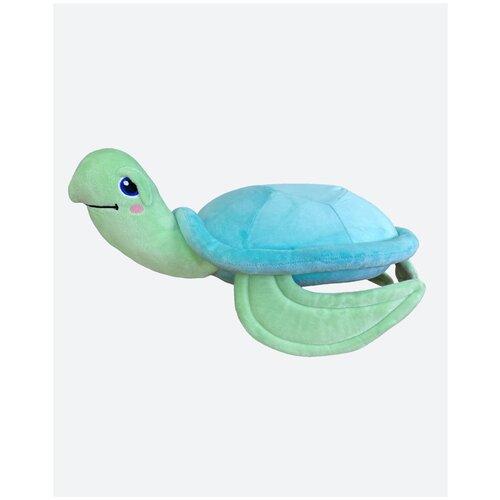 Мягкая игрушка подушка с эффектом памяти для сна черепаха Thalassia 35х25 Асветида