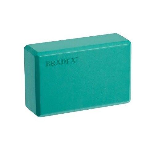 Блок для йоги BRADEX SF 0407 / SF 0408 / SF 0409 бирюзовый недорого