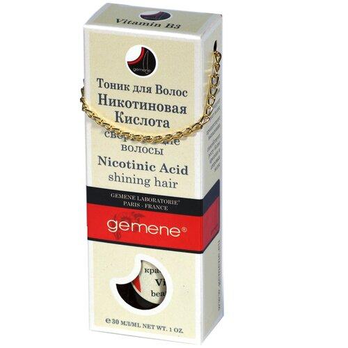 Gemene Никотиновая кислота (тоник для волос), 30 мл