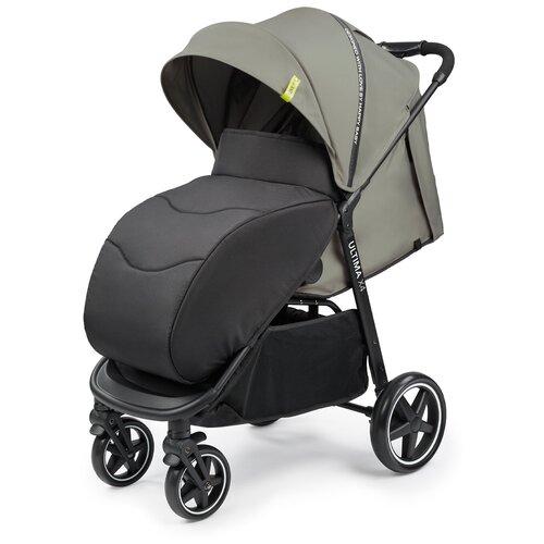 Фото - Коляска прогулочная Happy Baby Ultima V2 X4, 4 колеса, съемный бампер, sand прогулочная коляска happy baby umma pro coral