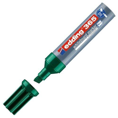 Купить Маркер для досок EDDING 365/4 зеленый 2-7 мм, скошенный наконечник, Маркеры