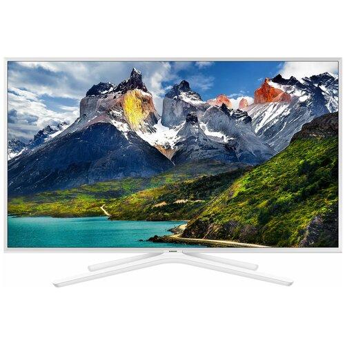 Фото - Телевизор Samsung UE43N5510AU 42.5 (2018), белый телевизор samsung ue50au9010u 50 белый