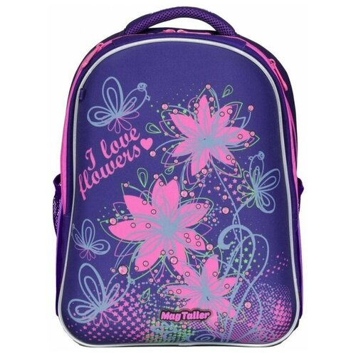 Фото - Рюкзак MagTaller Stoody II Flowers, фиолетовый, 40х30х20 см magtaller рюкзак stoody butterfly синий