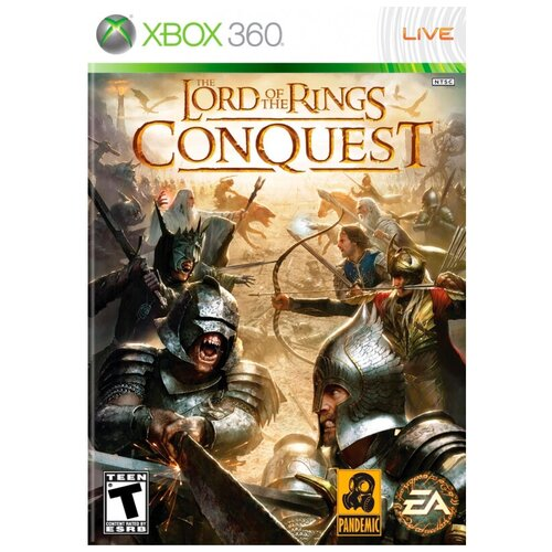 Игра для Xbox 360 The Lord of the Rings: Conquest, полностью на русском языке